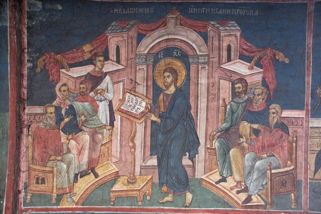 Hristos, predica