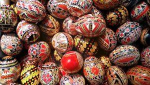ouă încondeiate, ouă roşii, ouă din Bucovina