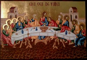 Cina cea de Taină, Euharistie, Împărtăşanie