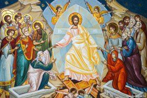 Înviere, pogorârea la iad, păcatul strămoşesc, îndumnezeire