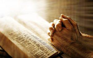 rugăciune, Biblie, texte sacre