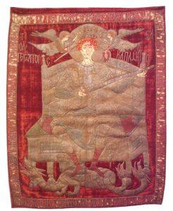 steag de luptă, Ştefan cel Mare, mănăstirea Zografu, muntele Athos